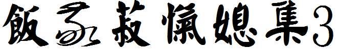 金梅中國书法3