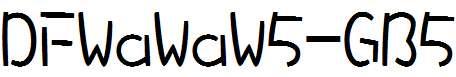 DFWaWaW5-GB5