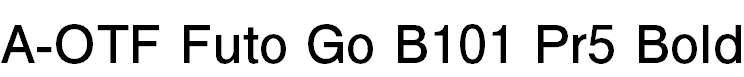 FutoGoB101Pr5-Bold
