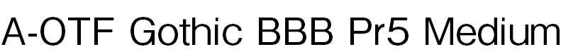 GothicBBBPr5-Medium