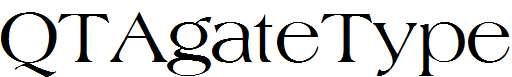 QTAgateType-Regular
