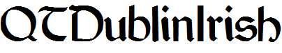 QTDublinIrish-Regular