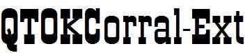 QTOKCorral-Ext-Regular