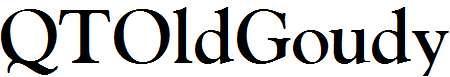 QTOldGoudy-Bold