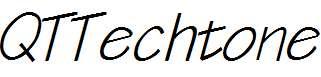 QTTechtone-Bold-Italic