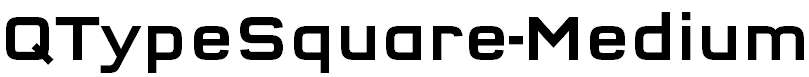 QTypeSquare-Medium
