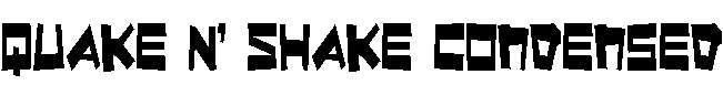 Quake-Shake-Condensed
