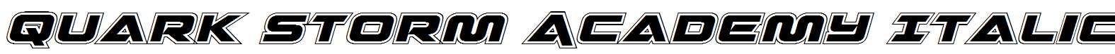Quark-Storm-Academy-Italic