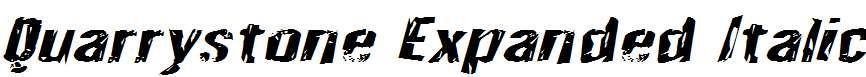Quarrystone-Expanded-Italic