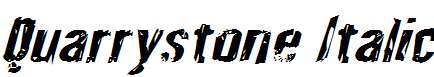 Quarrystone-Italic