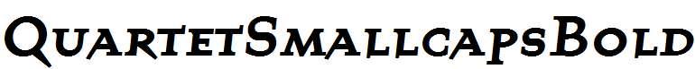 QuartetSmallcapsBold-Bold