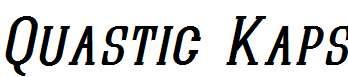 Quastic-Kaps-Italic