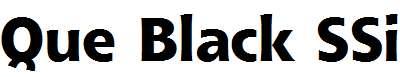 Que-Black-SSi-Extra-Bold