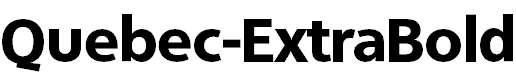 Quebec-ExtraBold