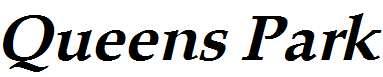 Queens-Park-Bold-Italic