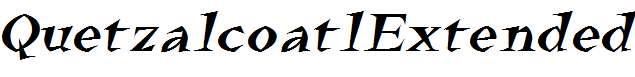 QuetzalcoatlExtended-Italic