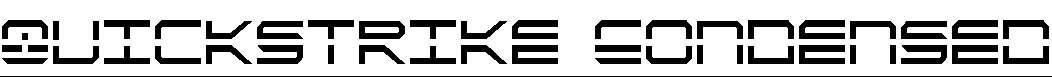QuickStrike-Condensed