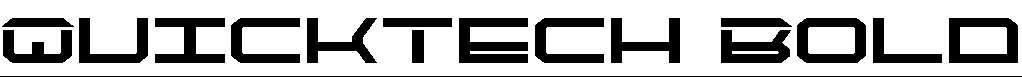 QuickTech-Bold
