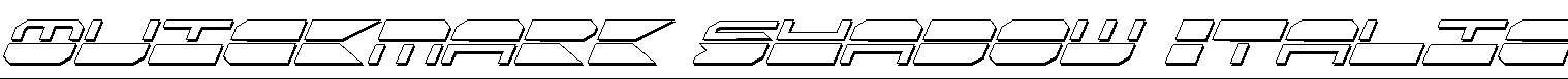 Quickmark-Shadow-Italic