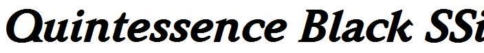 Quintessence-Black-SSi-Black-Italic