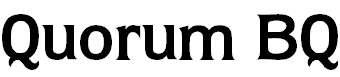 QuorumBQ-Bold