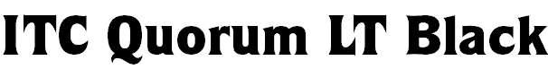 QuorumLT-Black