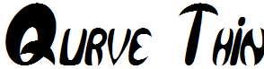 Qurve-Thin-Italic