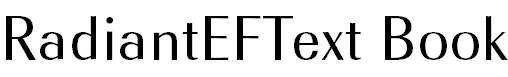 RadiantEFText-Book