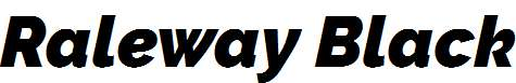Raleway-Black-Italic