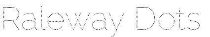 Raleway-Dots-