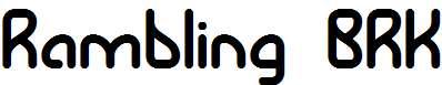 Rambling-BRK