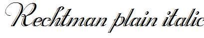 Rechtman-Plain-Italic