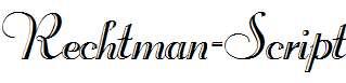 Rechtman-Script-Regular
