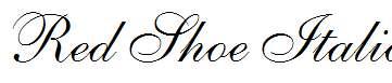 Red-Shoe-Italic