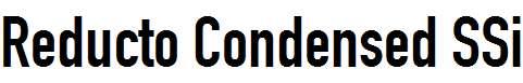 Reducto-Condensed-SSi-Condensed