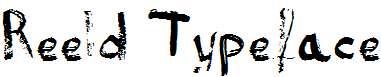Reeld-Typeface