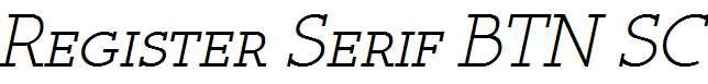 Register-Serif-BTN-SC-Oblique