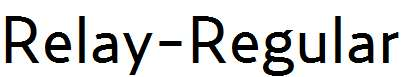 Relay-Regular