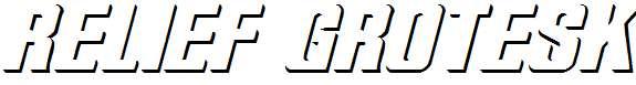 Relief-Grotesk-Italic