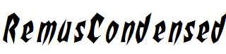 RemusCondensed-Italic