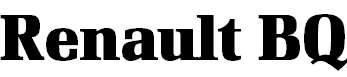 RenaultBQ-Bold