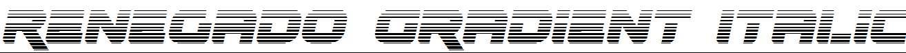 Renegado-Gradient-Italic
