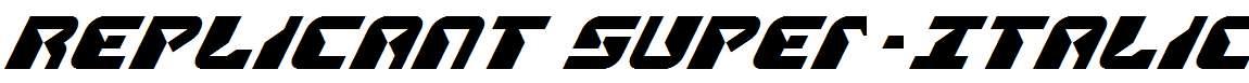 Replicant-Super-Italic
