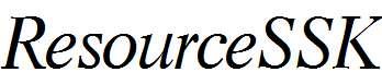 ResourceSSK-Italic