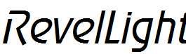 RevelLight-Italic