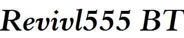 Revivl555-BT-Bold-Italic