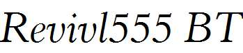 Revivl555-BT-Italic