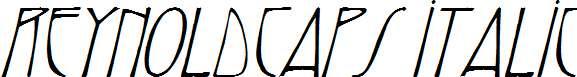 ReynoldCaps-Italic