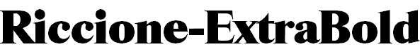 Riccione-ExtraBold