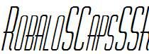 RobaloSCapsSSK-Italic